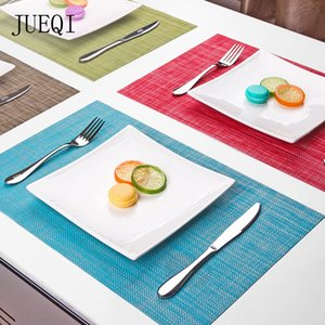 wholesale PVC Rectangle Coaster Stand Hot Dining Placemat For Table Pads Heat Resistant Drink Holder Cup Pad Mantel Individual Drying Mat