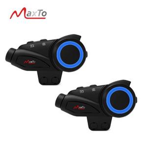 2020 горячей продажи MaxTo M3 водонепроницаемый мотоцикла Bluetooth WIFI Видеорегистратор 6 Всадники Шлем Интерком переговорные HD Sony 1080P DVR объектива