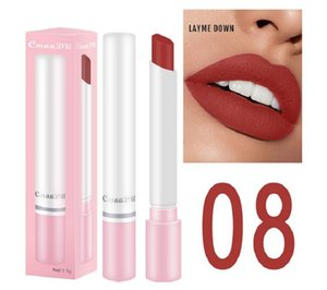 2020 New Makeup Cmaadu 8Colors Matte Long Lasting Waterproof Cigarette Lipstick Fog Surface Sexy Nude Lipstick Set maquillaje batom Lip
