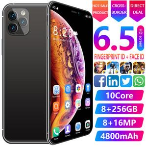 Globale Versione Smartphone Android 6.3inch cellulare Dual SIM mobile della macchina fotografica del telefono 3G 4G Cell Smart Phones Face Unlock portatile