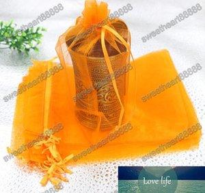100pcs / lot 16Colors 13x18cm Organze Satılan Renk Dikdörtgen Takı Düğün için Çanta Şarap Şişesi Bag Favors poşetleri