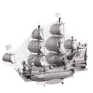 3D 금속 퍼즐 그림 장난감 앤 여왕의 복수 P038S 교육 퍼즐 3D 모델 재미 선물 Y200317