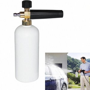 "High Pressure Water Gun Car Wash Pressão Washer Foam Jet ajustável 1/4"" Quick Release Neve Foam Lance Canhão Ferramentas Lave awfd #"