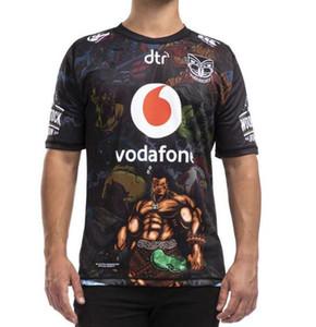 2020 nuevas camisetas de los guerreros de Auckland de rugby 18 19 20 Tailandia calidad 9S hombres camisetas de rugby de Nueva Zelanda guerreros camisas tamaño: S-3XL