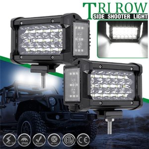 kongyide Car Light 6000k 5 Inch 180W 3400LM Dual Side Shooter LED Work Light Combo Offroad Driving Lamp accessories for car