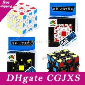 Magic Cube 3D Puzzle Cube 3x3x3 Gears Rotate Puzzle Sticker adulti Bambino S Bambini Learning educativi cubo giocattolo di decompressione Giocattoli per bambini Regali