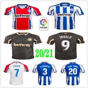 2020 قميص 2021 ديبورتيفو الافيس ألافيس جيرسي لكرة القدم لوكاس PERE PONS خوسيلو IBAI بورغي لاغوارديا BORGA GUIDETTI مخصص الكبار للأطفال لكرة القدم