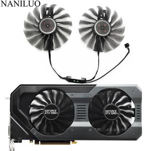 95MM GAA8S2U FD10015H12S فان GTX1080 GTX1070 GPU بطاقة تبريد للباليت GTX 1080 تي 1070 بطاقات GameRock كبديل