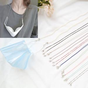 10 Masque visage style mode Retenue chaîne en métal longue Lunettes de soleil Bracelet cordon Lunettes antidérapante Collier cordon