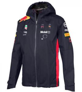 F1 Racing abbigliamento periferico ventilatore auto stile personalizzato maglione 2020 giacca giacca con cerniera più velluto a cavallo maglione zip inverno