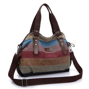 Women's creative New canvas bag fashion art college diagonal large capacity women canvas Bag for college package NSQB-020