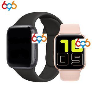 "696 X6 1,54"" Full Smart Touch Assista Homens para Apple Watch Suporte Música Bluetooth Chamada Tocar as mulheres inteligentes Banda PK W34 IWO 12 10 X7"
