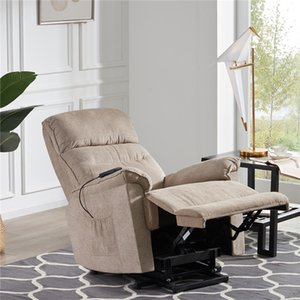 Oris Fur Power Lift Soft Chair Tissu d'ameublement Recliner Salon Chaise Canapé avec PP192501AAA à distance