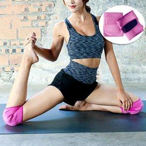 1 accoppiamento ginocchio Sicurezza Sport Pad Donne danza Yoga Leggings Guardia Fitn corso Ingranaggio protettivo antiscivolo Anti-Collision Shock