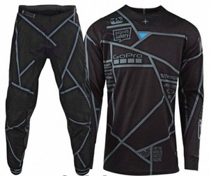 2019 Motocross Dirt Bike Suit Top Gear Motos Set MX Jersey e calças Moto Bike Racing Roupa AERs #