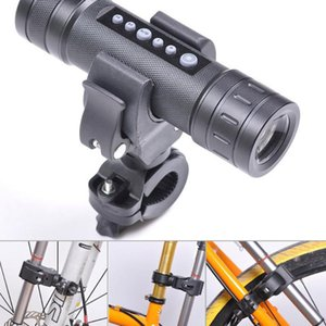 Bicycle LED Holder Omnipotent Plastic Latest Bicycle LED Torch Bracket Mount Holder Front Light Clip