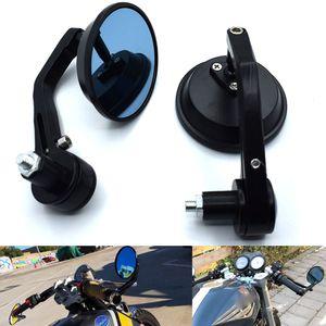 "Universal 7 8 ""Motorcycle Rearview Mirror Handle Rod End Mirror For Yamaha FZR400RR FZR600 FZR600R FZR750R FZR1000 MT-09"