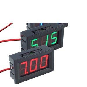 DC4.5-30V 0.56inch Digital Voltmeter Two-wire Three-digit Number LED Display Voltage Meters for Motorcycles Cars Digital Voltmeter