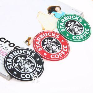 DHL Kargo Ücretsiz Starbucks eski logosu kauçuk silikon Kayma Önleyici Kupa Mat Mug Bulaşık Bowl Placemat Altlıkları Bankası Mutfak Aksesuarları Ev Dekorasyonu
