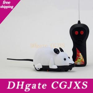 Brinquedo engraçado do rato do gato Simulação remoto sem fio Gato engraçado de Controle do Mouse Elétrica Pet Novelty Brincar Brinquedo Falso Mice