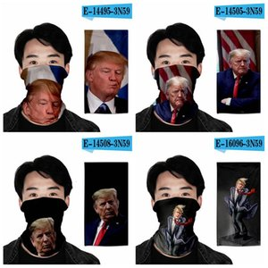 Turban Sihirli Trump Men 2020 Kadınlar Fonksiyonlu Açık Anti-sis Anti-kirlilik Bisiklet Boyun Eşarp Maske Headban bandanas Ljja4013 3d