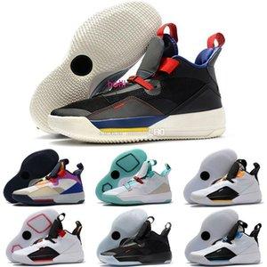 boxBrand avec 33 Tech Pack Future de chaussures de basket-ball vol pour les hommes prévente 33s XXXIII Guo Ailun Chine Jade Colorway Fumée Gris Blanc
