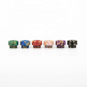 Best Selling Vape 810 resin drip tips Wide Bore Drip Tip for TFV12 Prince TFV8 Big Baby Tank Mouthpiece Free Ship