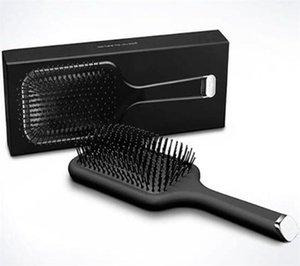 Nouvelle arrivée à chaud Pinceau professionnel Paddle peigne chaud Brosse pour cheveux Styling Lisseurs céramique Brosse