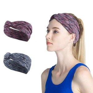 Fascia elastica Sport Turbante Yoga esecuzione di ginnastica sicurezza fitness unisex traspirante Fold ampio tratto Parasudore Hairband Accessori