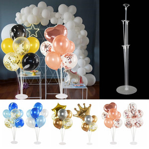 1 Set Balloon Holder Column Base Air Balls Stand Stick with Balloon for Wedding Birthday Party Ballons Decoration Accessories 7z