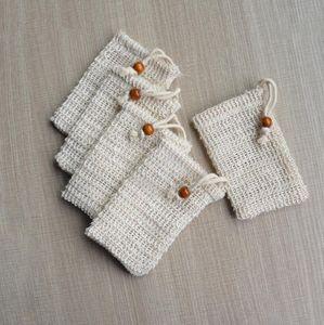 9 * 14 centímetros fazendo bolhas de sabão Bag Saver Sack bolsa de armazenamento com cordão saco titular da superfície da pele Limpeza cordão Titular Bath Supplies LJJP323