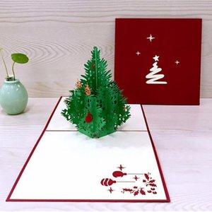 수제 맞춤 기념품 엽서 웨딩 생일 장식 인사말 3D 크리스마스 종이 카드 카드