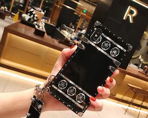 Casos de telefone de luxo designer para Samsung Nota 20 Ultra 10 9 S20 S10 S9 S8 A51 A71 iphone 11 Pro Max X XR 7 8 mais padrão tampa traseira Moda