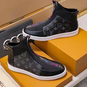 Fashion Stiefel Schuhe Luxus Bottes Chaussures Gießen Hommes Herrenmode Schuhe Schuhe Schuhe Shaspet High Top Freizeitschuhe für Männer Winter-