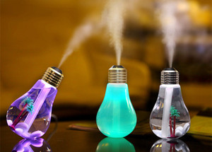 Creative 400ML USB Desktop LED Colorful Night Light Car Styling Air Humidifier Oil Essential Aroma Diffuser Mist Maker Fogger