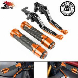 Para 990SMR 990 SMR 2009 a 2013 2012 2011 2010 motocicleta de aluminio CNC freno maneta del embrague y la barra de empuñaduras handbar 990 SMR APJ0 #