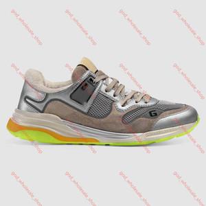 Gucci scarpe da ginnastica Progettista Ultrapace per Coach Classic scarpe vintage casuali delle donne scarpe da pelle scamosciata di modo Mesh donne del progettista