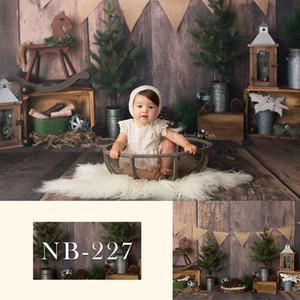 Рождество Винил Фото Фон Baby Shower дня рождения луки пол фон для Фотостудии