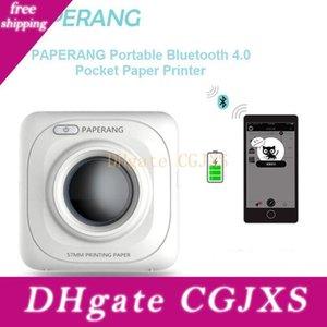 Paperang P1 stampante termica portatile Bluetooth 4 .0 stampatore della ricevuta Photo Printer telefono senza fili Mini Stampanti 1000 mAh Lithium-Ion