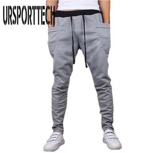 Hot Sale Casual Men Pants Unique Big Pocket Hip Hop Harem Pants Fitness Men's Clothing High Quality Outwear Casual Men Joggers