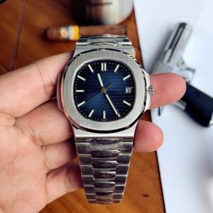 PATEK PHILIPPE 9 modo di stile 40mm di alta qualità GMT classico orologio PP Nautilus 5711 / 1A 010 mens trasparenti uomini meccanici automatici della Mens Watc RRFC #