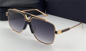 Новая мода мужские солнцезащитные очки 4389 квадратный металлический полный дизайн рамы классическая форма изменчива цвет показать стиль высшего качества