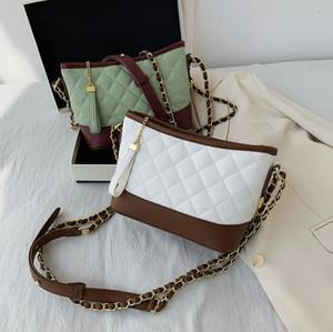 Moda Backet Mulheres Bag Verifique alta qualidade Crossbody Senhora pequena bolsa de couro Bolsas de Ombro
