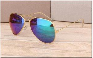 COM CAIXA NOVO Hot frameless MarcaRB óculos de sol óculos homens chifre Naturais e mulheres óculos de sol óculos eyeglassessize