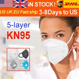 DHL schneller Lizenzierte Verschiffen US Export Fabrik Gesicht Folding Gesicht mit Qualified Certification Anti-Staub-Gesichtsmasken Großhandel Versorgungsmaske Maske