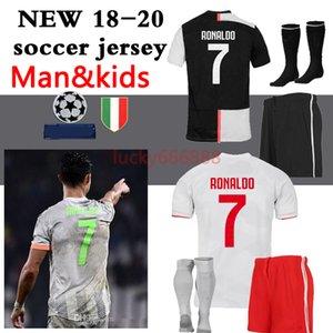 2019 2020 adult and kids kit+socks soccer jersey 19 20 football jerseys Children and man football jersey kits Maillot de foot