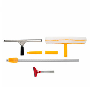 Window Cleaner Upgrade Glass Wiper Cleaning Tool Commercial Cleaning and Scraping Ceramic Tile Floor Combination Set, One Box, Ten Sets