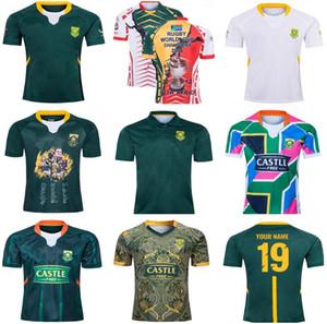 2019 2010 Gedenkausgabe Afrika Shirt South African 2019 100. Jahrestag CHAMPION JOINT VERSION Nationalmannschaft Rugby-Trikots Shirts