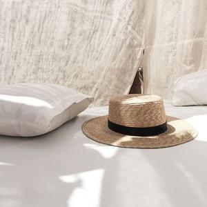 Cappellini VRIGINER calda Vendita Appartamento Alta Cappello per il sole Estate Donna Primavera Bende Beach Cappello Traw donna traspirante della moda di New