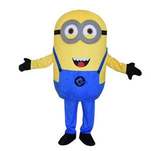 sbire grand costume de mascotte pour adultes costume homme coutume jaune